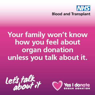 Organ Donation Week banner