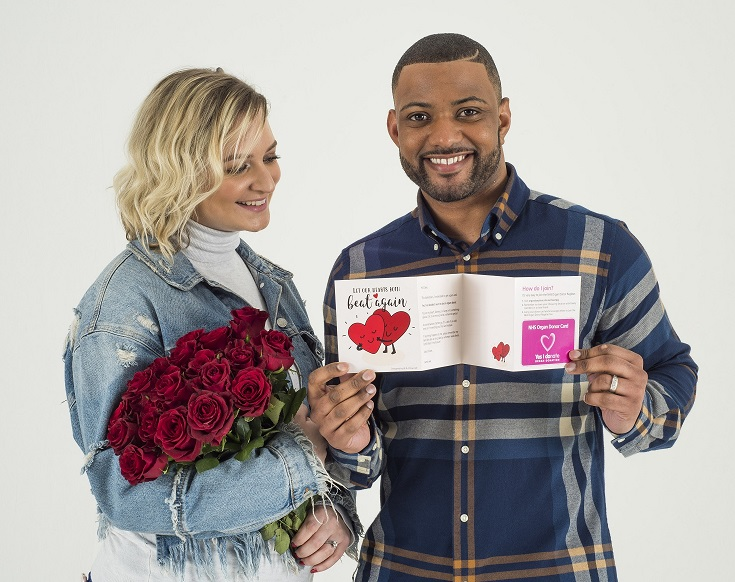 JB Gill and wife Chloe